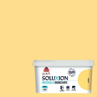 Idropittura  igienizzante antimuffa Soluxion pulcino 2,5 L Boero