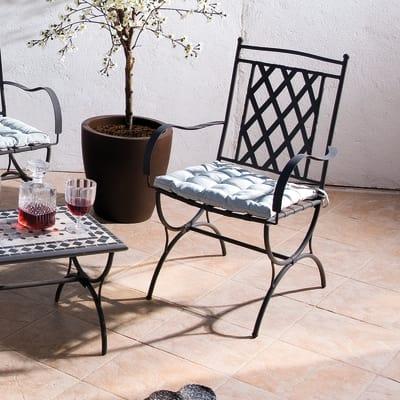 Sedia Maroc grigio antracite