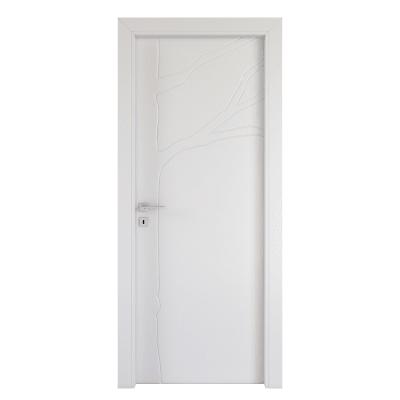 Porta da interno battente Wild bianco 80 x H 210 cm dx