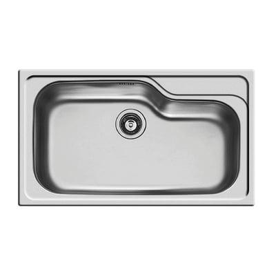 Lavello incasso Titan L 86 x P  50 cm 1 vasca