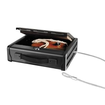 Cassetta portavalori Master Lock con cavo PP1KML nero