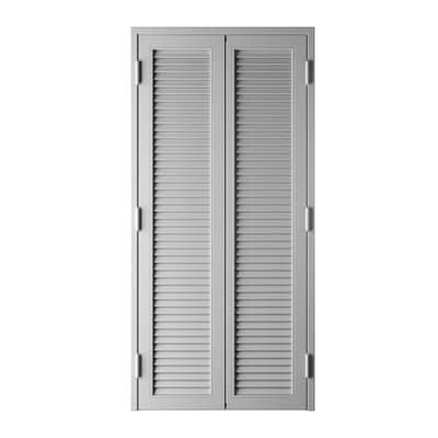 Persiana blindata vesta grigio chiaro l 120 x h 220 cm for Inferriate per finestre leroy merlin