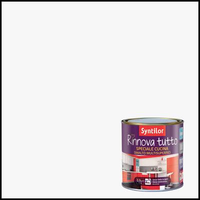 Smalto rinnova tutto syntilor bianco 0 5 l prezzi e offerte online leroy merlin - Syntilor rinnova tutto bagno ...