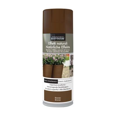 Spray effetto Rustolium bronzo marrone 400 ml