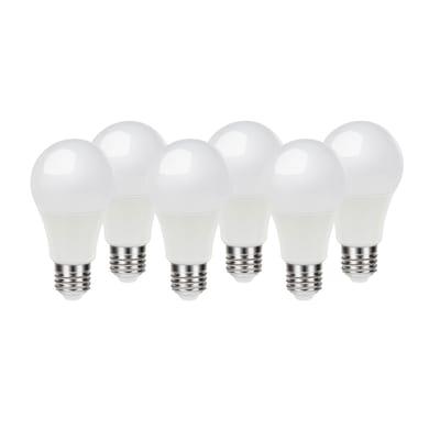 6 lampadine LED Lexman E27 =100W goccia luce naturale 220°