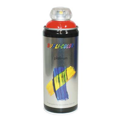 Smalto spray Platinum rosso traffico RAL 3020 brillante 400 ml
