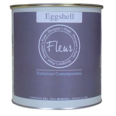 Smalto manounica Fleur Eggshell all'acqua greige satinato 0.75 L