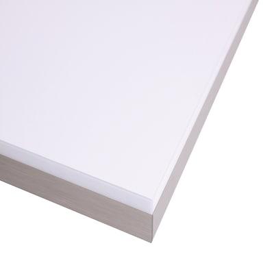 Piano cucina su misura laminato bianco lucido 4 cm