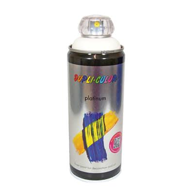 Smalto spray Platinum bianco puro RAL 9010 satinato 400 ml