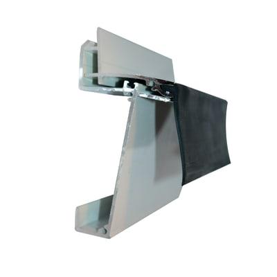 Kit scossalina in alluminio 400 x 18  cm, spessore 2 mm