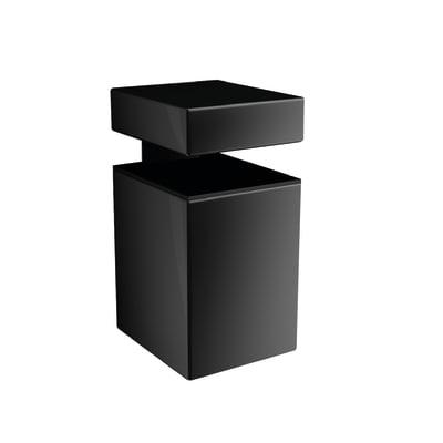 Reggimensola Block nero 5 x 3 cm
