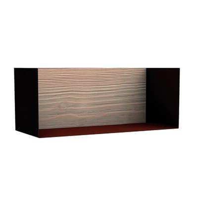 Cubo Box effetto ruggine L 45 x P 18, sp 1,7 cm