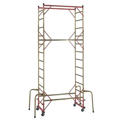 Trabattello Facal Mito in acciaio zincato, per lavori fino a 4,7 m