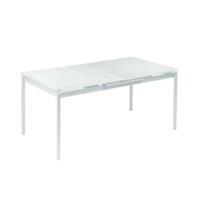 Tavolo allungabile Syd, 160 x 90 cm bianco