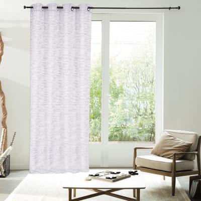 Tenda Argan naturale bianco 140 x 280 cm