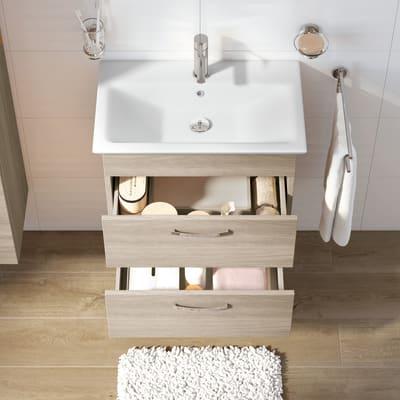 Mobile bagno Giò olmo rousseau L 65 cm