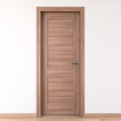 Porta da interno battente Fusion 90 x H 210 cm sx