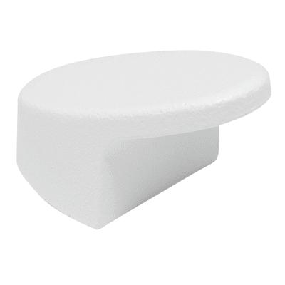 2 pomoli bianco Lucido Ø 20 mm