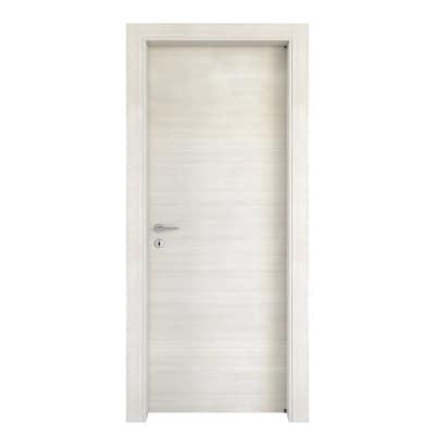 Porta da interno battente Kompass matrix cappuccino 70 x H 210 cm reversibile