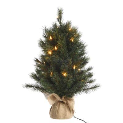 Alberello di Natale da appoggio Norwey H 75 cm