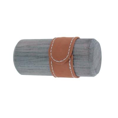 Finale per bastone per tenda grigio - multicolor