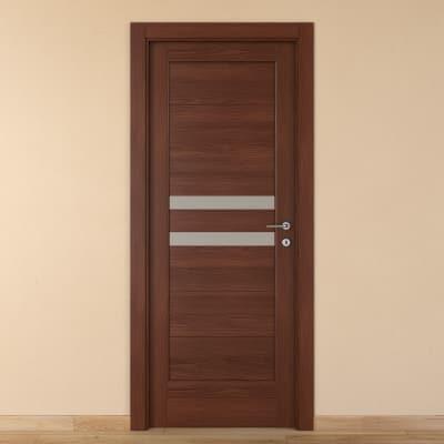 Porta da interno battente Malawi 1 60 x H 210 cm sx