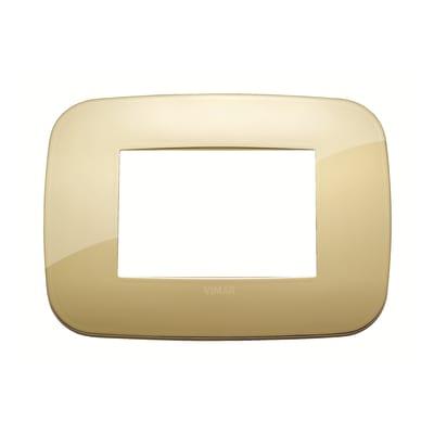 Placca 3 moduli Vimar Arké oro