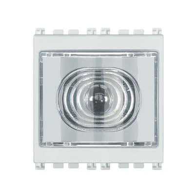 Torcia emergenza a LED estraibile Vimar Arké bianco