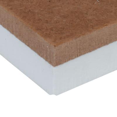Pannello in fibra di legno Ecolegno extra Fortlan L 1,2 m x H 0,6 m, spessore 40 mm