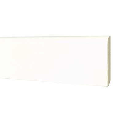 Battiscopa impiallacciato laccato bianco 13 x 80 x 2400 mm for Battiscopa bianco leroy merlin