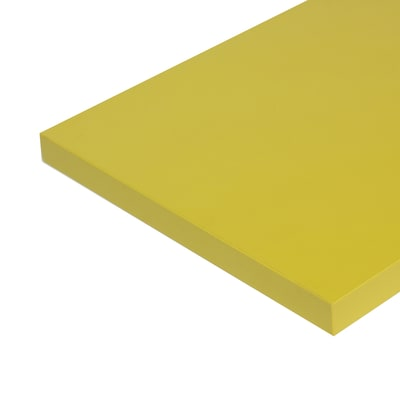 Pannello melaminico giallo 25 x 600 x 1000 mm