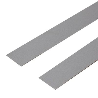 Bordo precollato grigio 65 x 3,5 cm