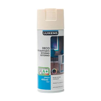 Smalto spray Deco Luxens Bianco Avorio 5 opaco 400 ml