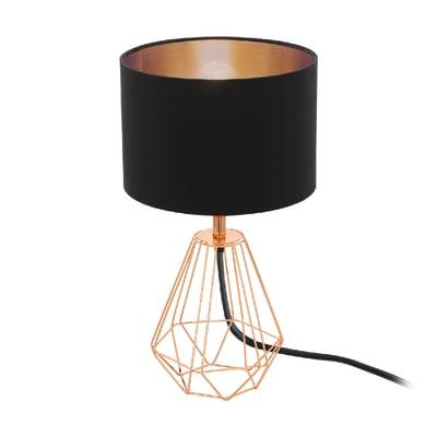 Lampada da comodino Carlton 2 nero