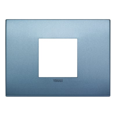 Placca 2 moduli Vimar 19652.76 Arké blu