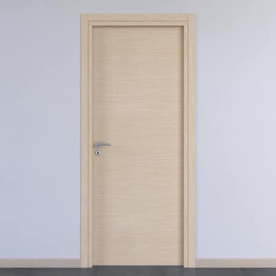 Porta da interno battente Spring rovere chiaro 90 x H 210 cm reversibile