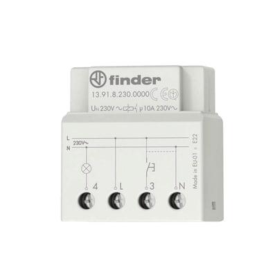 Relè ad impulsi temporizzato per lampade LED dimmerabili