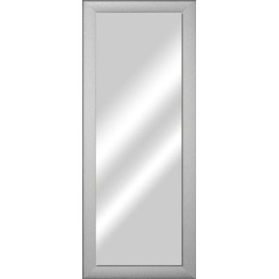 Specchio da parete rettangolare glitterata bianco 42 x 132 for Pellicola specchio leroy merlin
