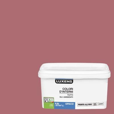 Idropittura lavabile Mano unica Viola Melanzana 3 - 2,5 L Luxens