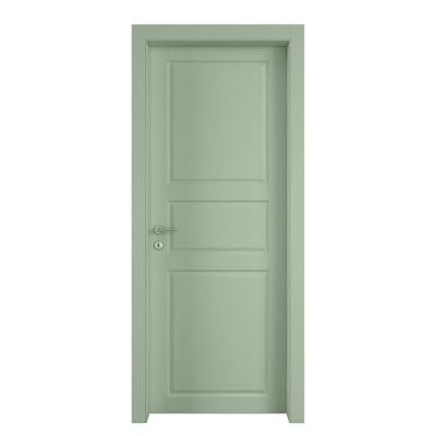 Porta da interno battente New York verde 70 x H 210 cm dx