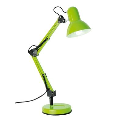 Lampada da scrivania flessibile ennis verde prezzi e for Prezzi lampadari leroy merlin