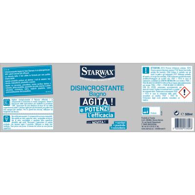 Disincrostante Starwax Bagno bi-fase 0,5 L
