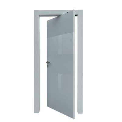 Porta da interno rototraslante Melangè bianco 80 x H 210 cm dx