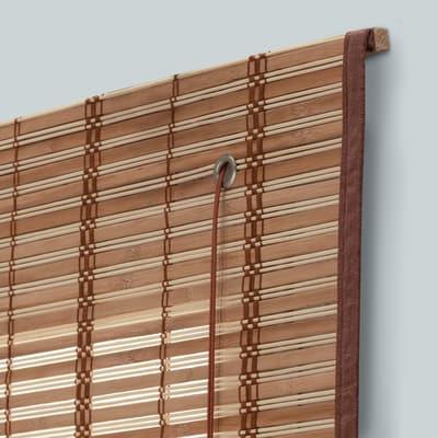 Tenda a pacchetto saigon legno naturale 90 x 250 cm prezzi for Tende da esterno leroy merlin