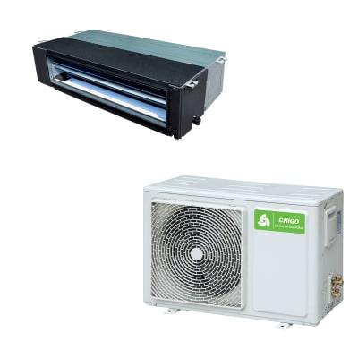 Climatizzatore fisso inverter monosplit canalizzabile Chigo CTA-18HVR1 5.3 kW