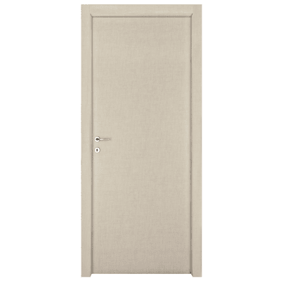 Porta da interno battente Klimt kaki 60 x H 210 cm dx