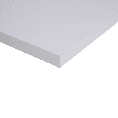 Piano cucina su misura Fenix NTM Alaska bianco 2 cm