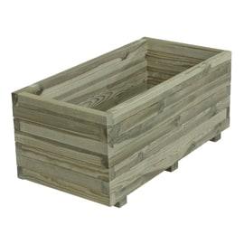 Fioriere in legno con grigliato o senza fioriere per orti for Fioriere leroy merlin